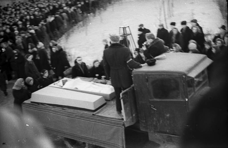 Свердловск, холодный март 1959 года. Фото: Гугл.