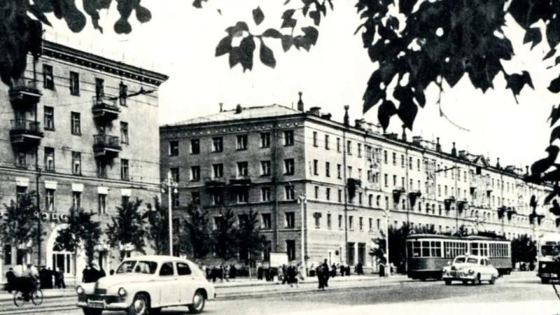 Свердловск 50-х прошлого века - город революционный и таинственный. Фото: Гугл.