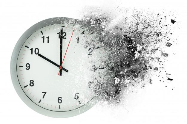 Время, которое исчезает, да... Фото: Гугл.