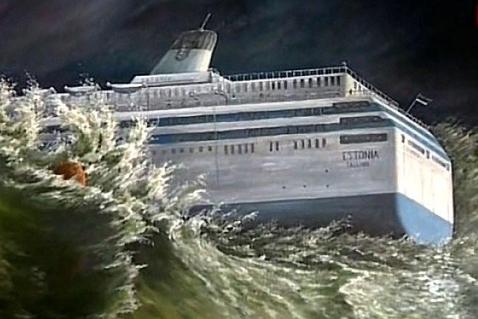 """Что случилось с паромом """"Эстония""""? Он утонул. Фото: Гугл."""