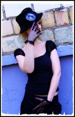 Яна Почицкая - обаятельная и загадочная. Фото: Гугл.