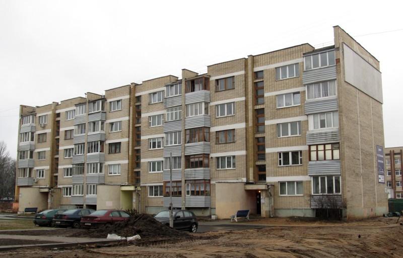 Минск, ул. Короля, 19. Где-то здесь тусовались книжные ФСБэшники. Фото: Гугл.
