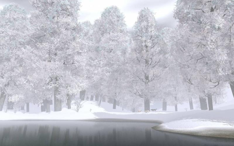 А когда пожалует сама белая хозяюшка зима... Фото: Гугл