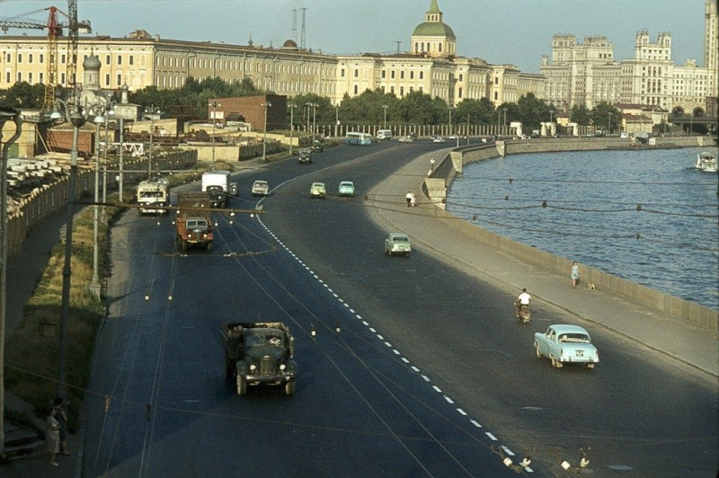 Москва 50-х на фото француза Жака Дюпакье.