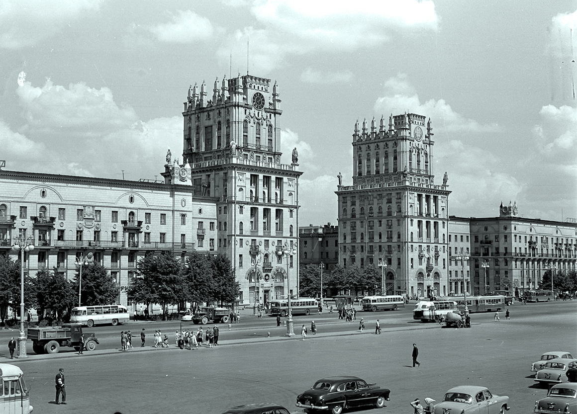 Так выглядел Минск во времена Ли Харви Освальда. Фото: Гугл.