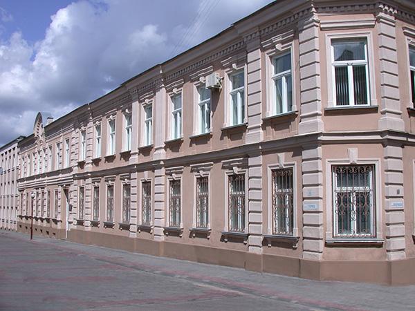 Центральное здание УКГБ в Гродно по улице Тельмана (Изб-1). Фото: Гугл.