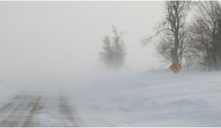 Метель на Урале. Фото: Гугл.
