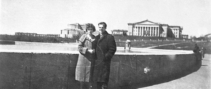 Освальд и Марина в Минске. Фото: Гугл.