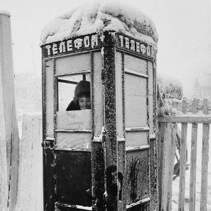 Телефонная будка - фонарь расстекленный... Это я самого себя цитирую. Фото: Гугл.