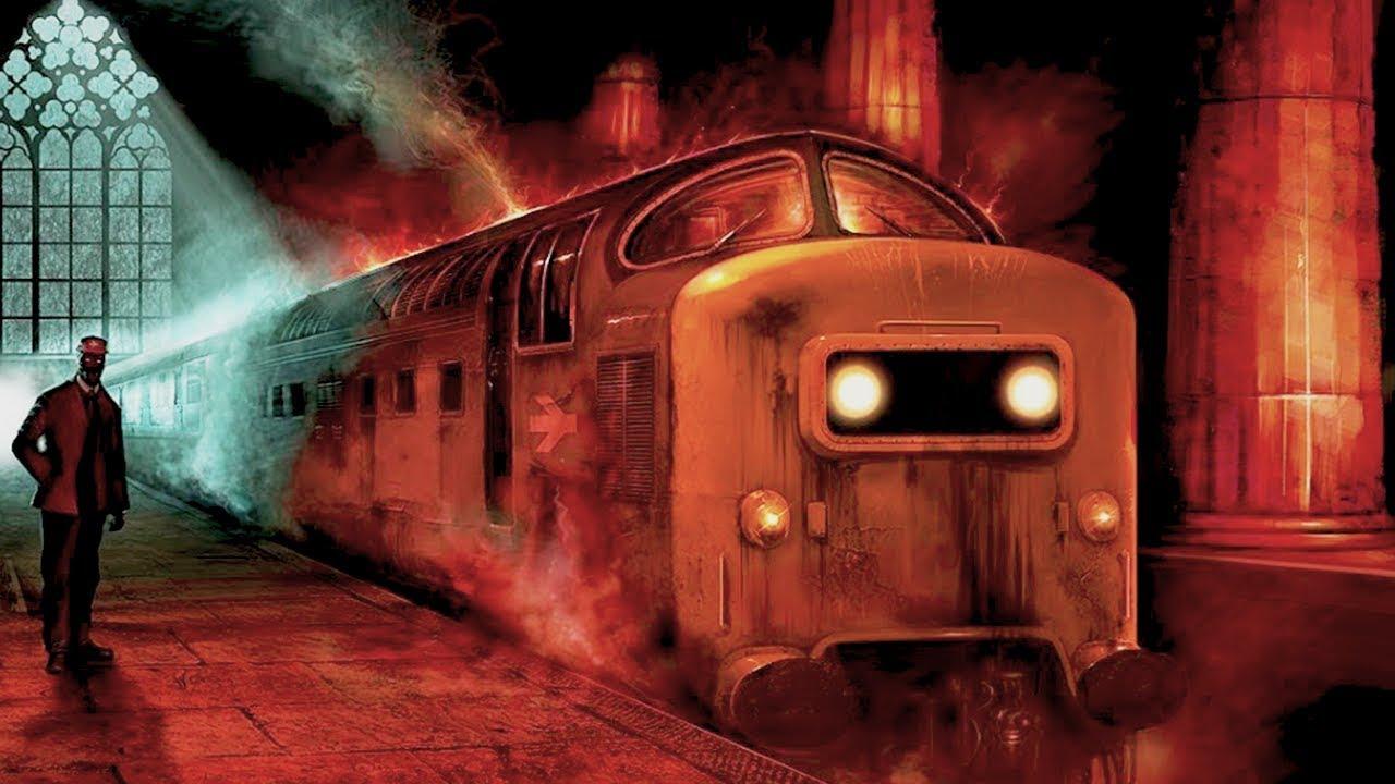 Призрачный поезд. Фото: Гугл.