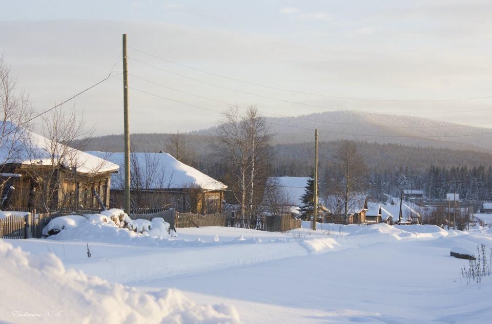 Уральская зима. Фото: Гугл.