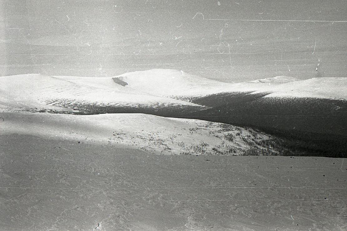 Безмолвная снежная пустыня, как раз те места. Фото: Гугл.
