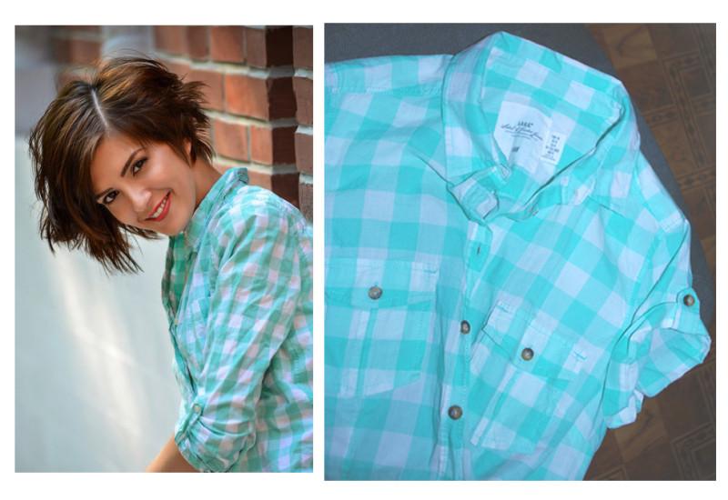 Та самая рубашка. Фото со страницы Марии Политовой Вконтакте и Lana
