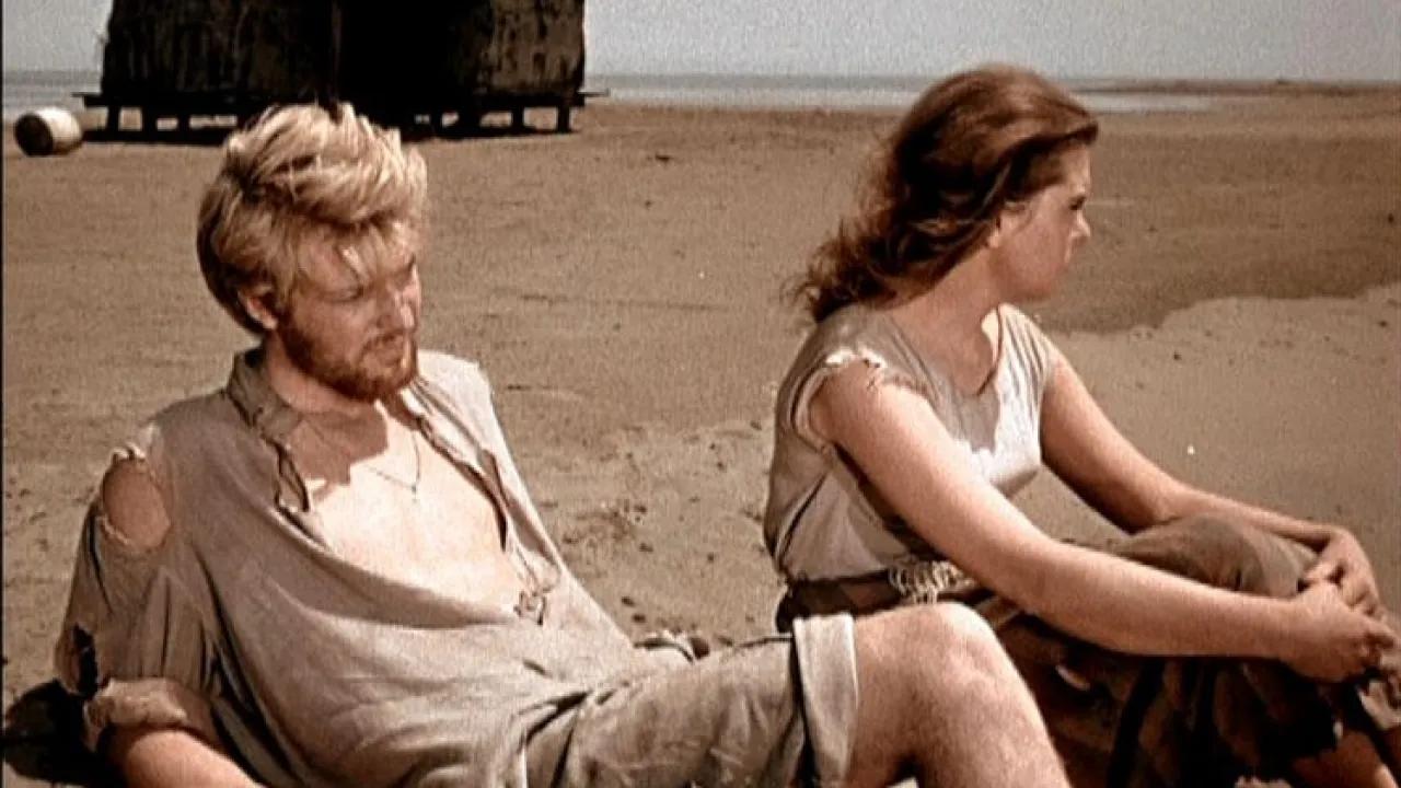 """""""Сорок первый"""" — кадр из фильма (1956 года выпуска). Фото: Гугл."""