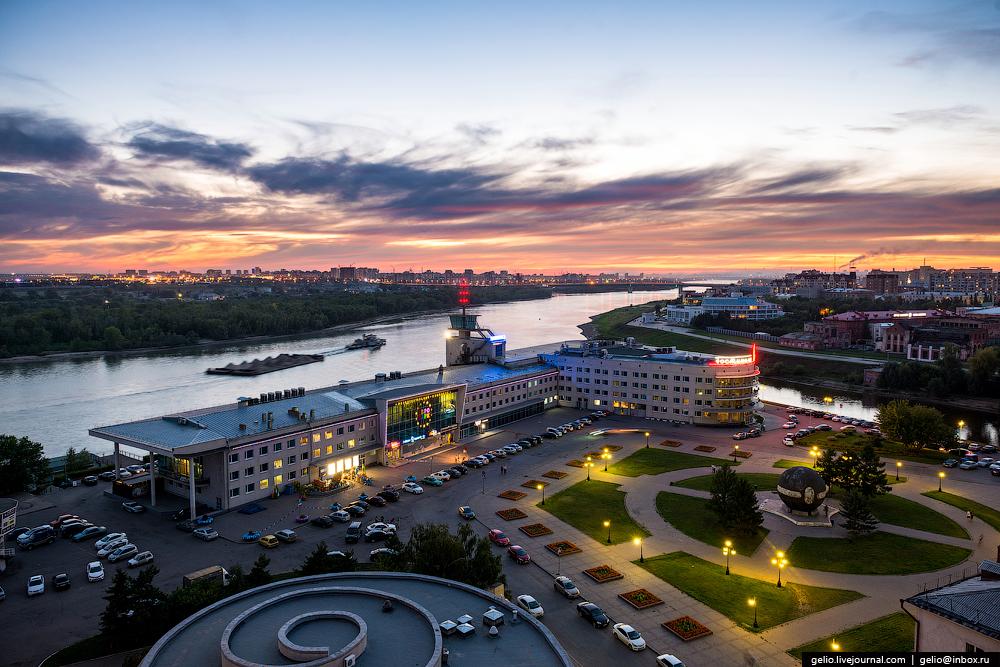 Омск — город, в котором мне довелось побывать. Фото: Гугл.
