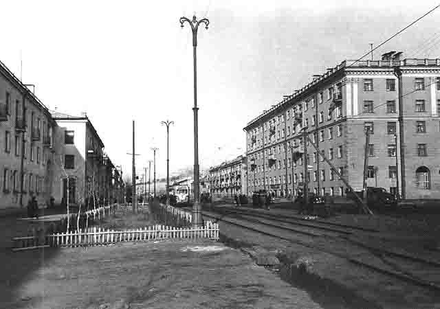Город Серов. Есть какое-то очарование в старых снимках. Фото: Гугл.