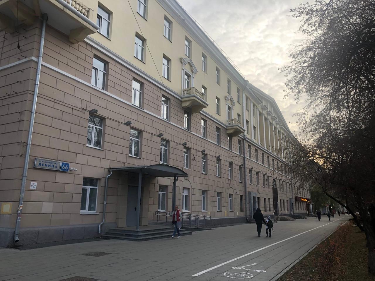 Екатеринбург, Ленина, 66. Общежитие УРФУ (бывший УПИ). Где-то здесь и комната 531. Фото из личного архива автора.
