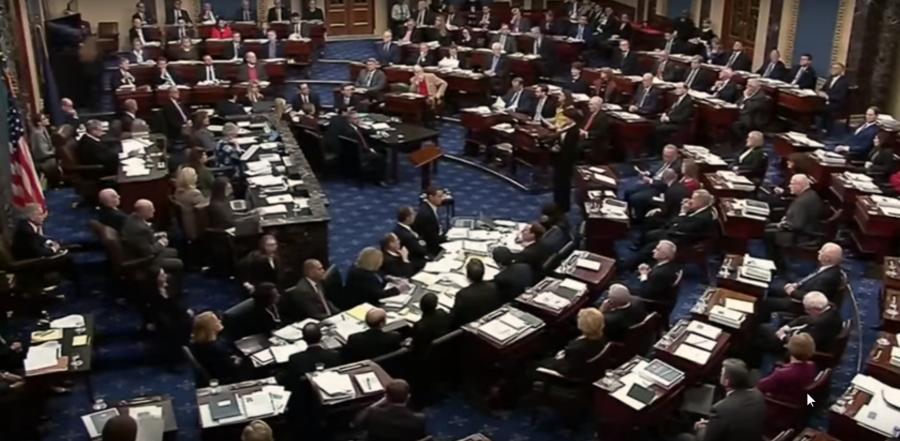 Сенат США. Импичмент Трампа. Кликабельна