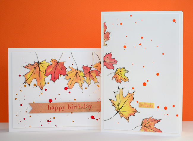Поздравление, открытка про осень своими руками нарисовать