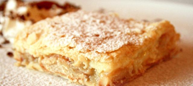 Рецепт пирога с бананом на молоке