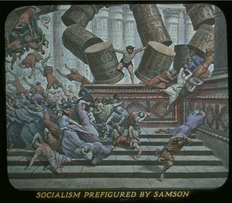 Социализм - представлен Самсоном