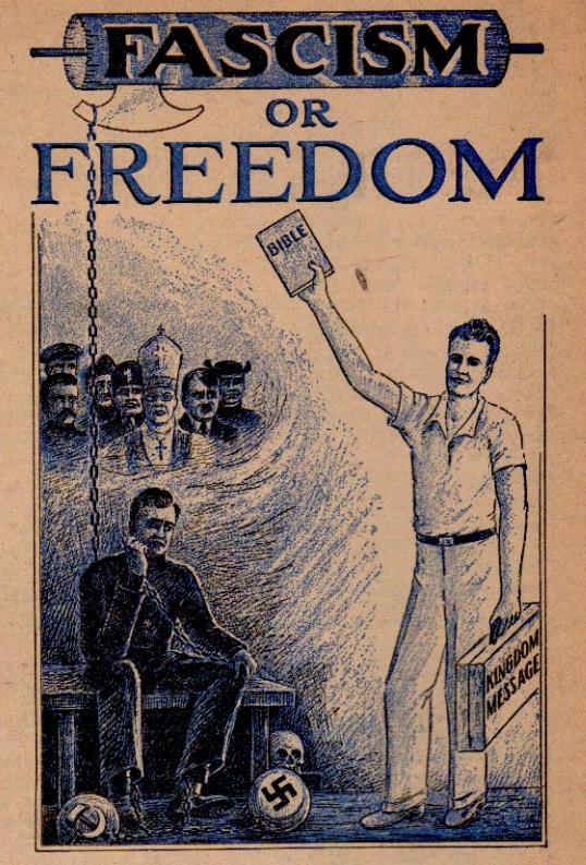30_Утеш. Март 1939 (Фашизм или Свобода)_реклама