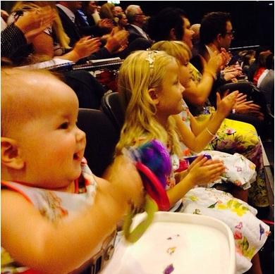 Дети на конгрессе СИ