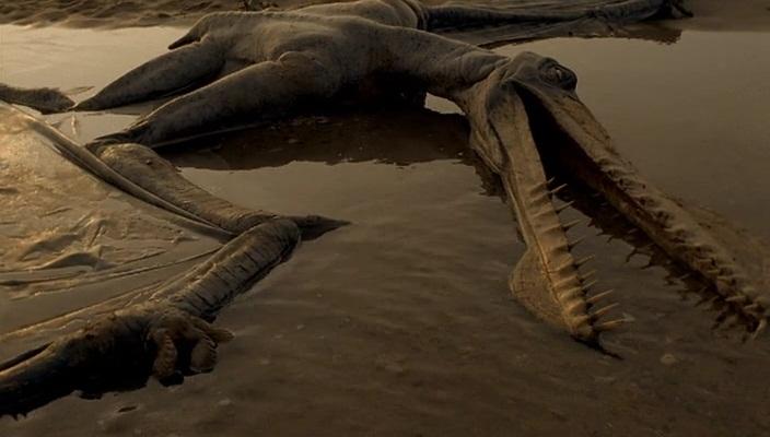 Мертвый динозавр