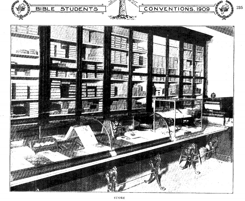 Из сувенирного издания 1909 (Магазин литературы)