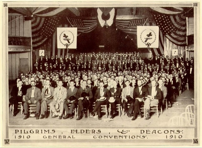 Из Сув Сборника 1910 Конгресс с американскими флагами_2