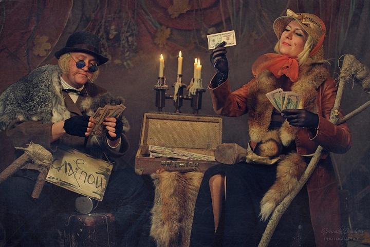Лиса Алиса и Кот Базилио (фото Геннадия Бандурова)_1