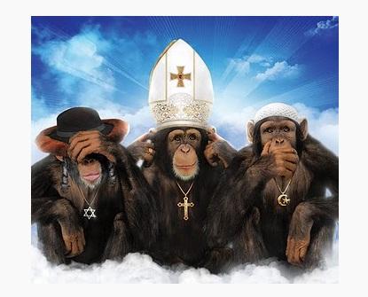 Обезьяны-религии