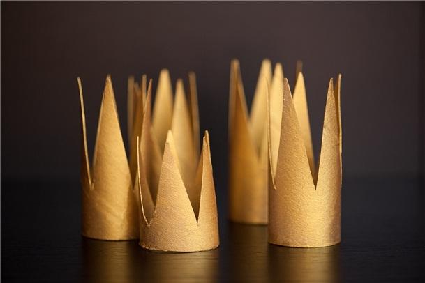 Короны из туалетной бумаги_2