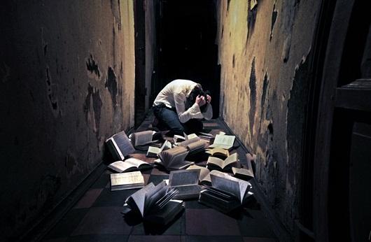 Книги и мужчина