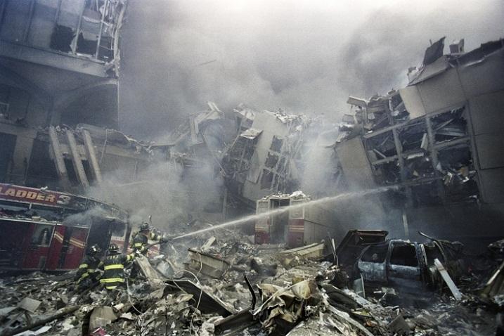9_Обрушение башен в Нью-Йорке