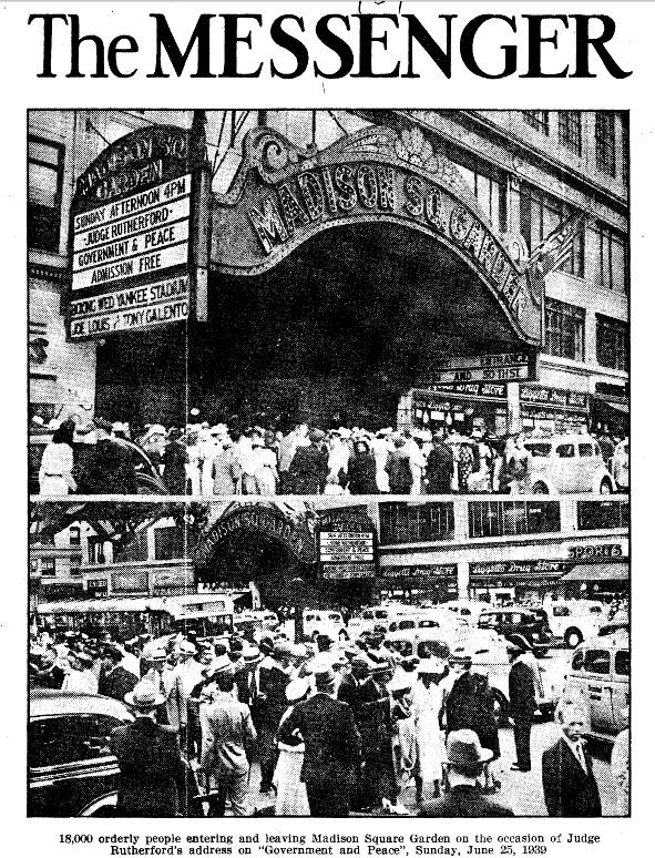Вестник_1939_о конгрессе в Мэдисон Сквер Гарден