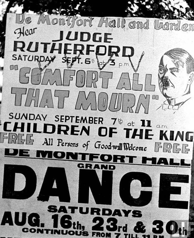 Рутерфорд в Англии 1930-е