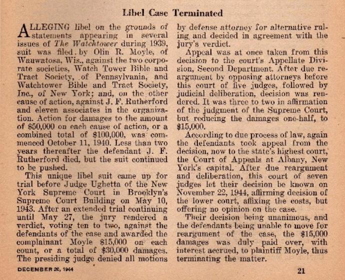 Статья Декабрь 20_1944 года Заметка о Деле Мойла против Общества_2