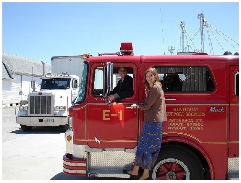 Пожарная служба в Паттерсоне (филиале СИ в США)