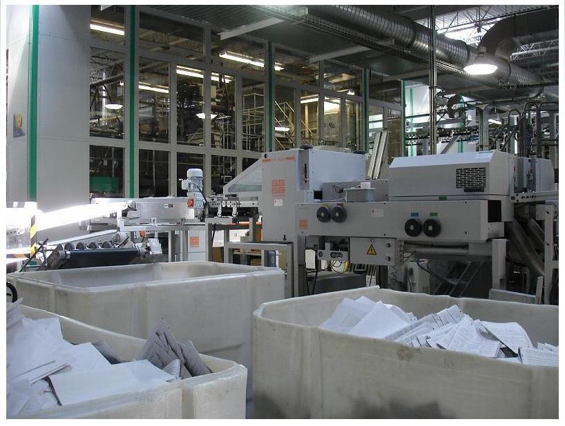 Печатное производство СИ в Уолкилле (США)