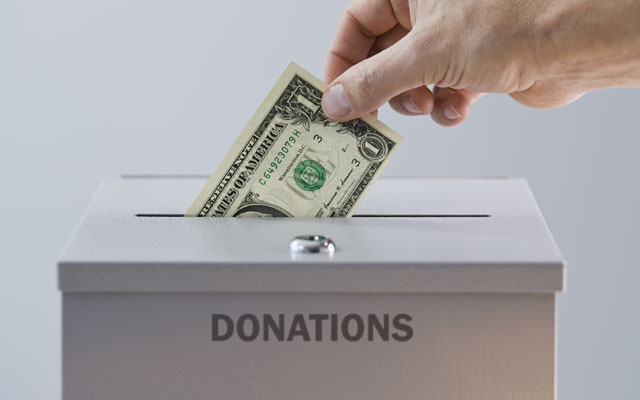 Как сделать пожертвования в паблике