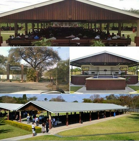 60_Зал Конгрессов в Зимбабве (Африка)