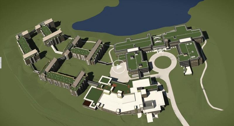 План городка Главного Управления в Уорвике_2