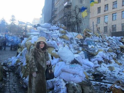 Кириллова на Майдане_3
