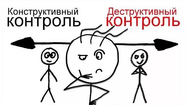 Конструктивный контроль-Деструктивный контроль