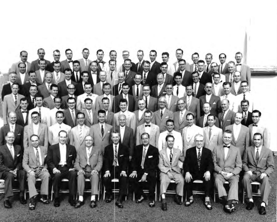 Фотография из буклета 1958 года (нет чернокожих)