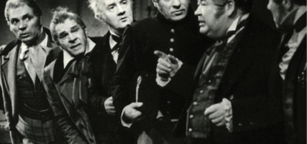 Сцена из Гоголя - Ревизор