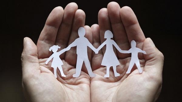 Семья до распада