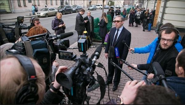 Сивульский дает интервью