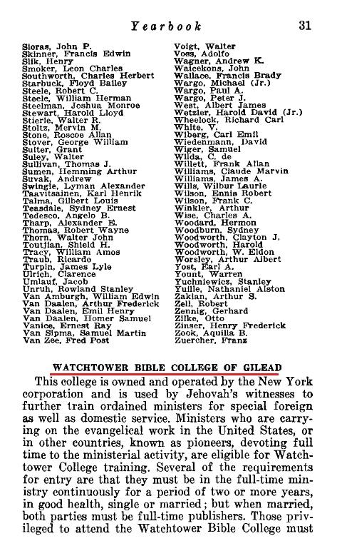 Ежегодник 1946 Свидетелей Иеговы
